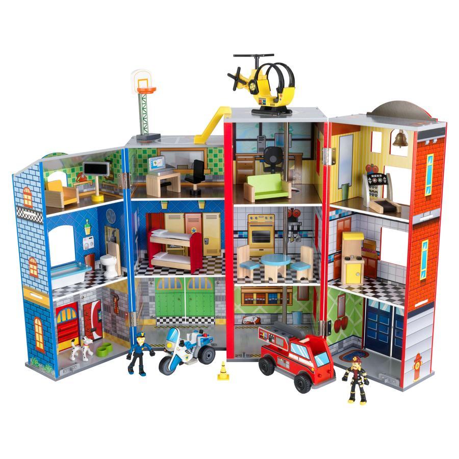 Kidkraft® Helden van de dag - Speelset uit hout