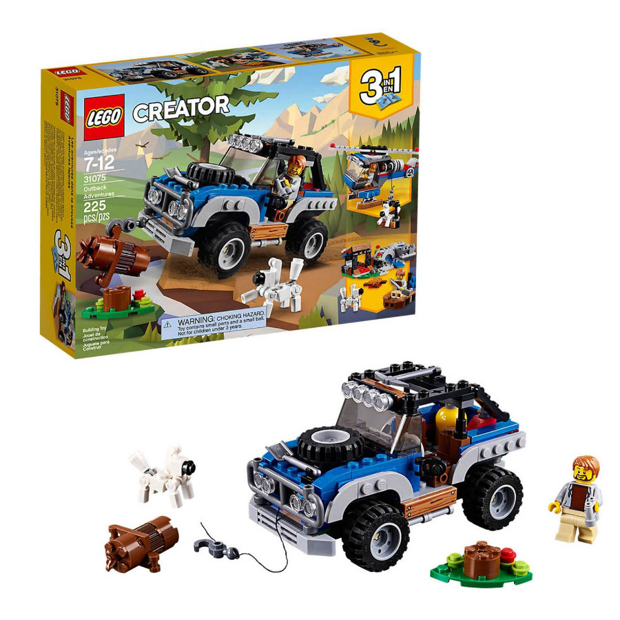 LEGO® Creator - Raket-rallybil 31075
