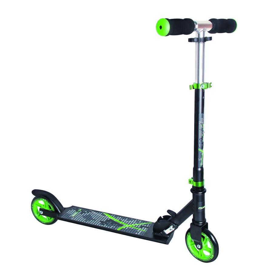 AUTHENTIC SPORTS Hulajnoga Scooter Muuwmi czarny/zielony, 125 mm