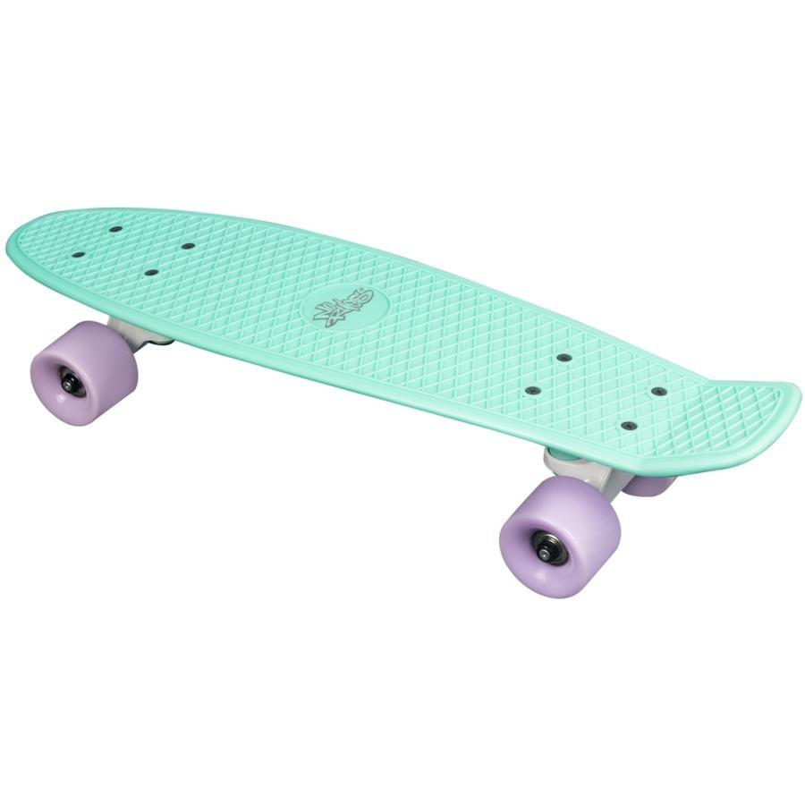 AUTHENTIC SPORTS Skateboard fun, mint-paars