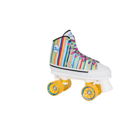 HUDORA Patins à roulettes enfant candy stripes, T. 42