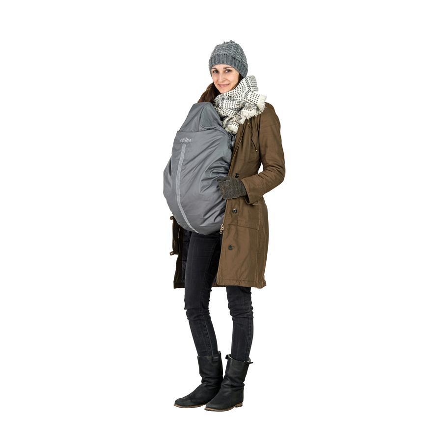 AMAZONAS Winter Cover voor draagdoek of draagzak, grijs