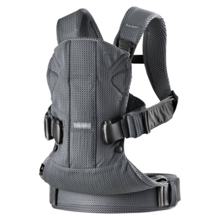 BABYBJÖRN Porte-bébé One Air mesh, anthracite