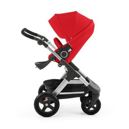 STOKKE® Trailz™ Gestell und Sitz mit Geländerädern Red