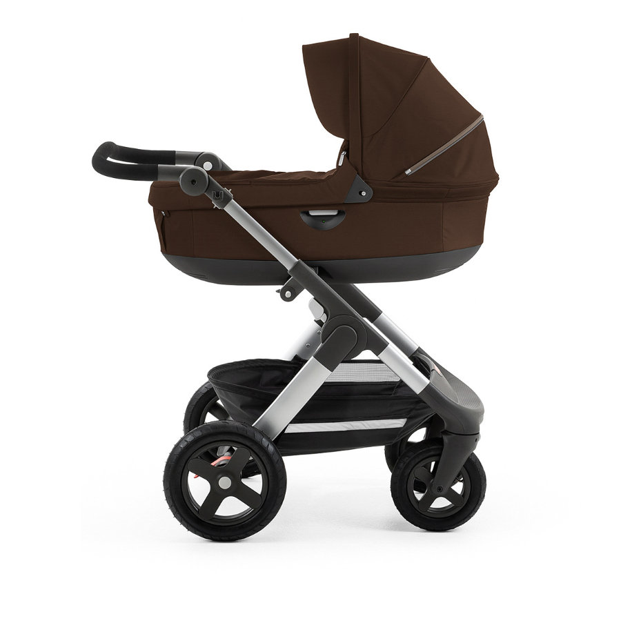 stokke trailz kinderwagen mit gel nder dern inklusive babyschale brown. Black Bedroom Furniture Sets. Home Design Ideas
