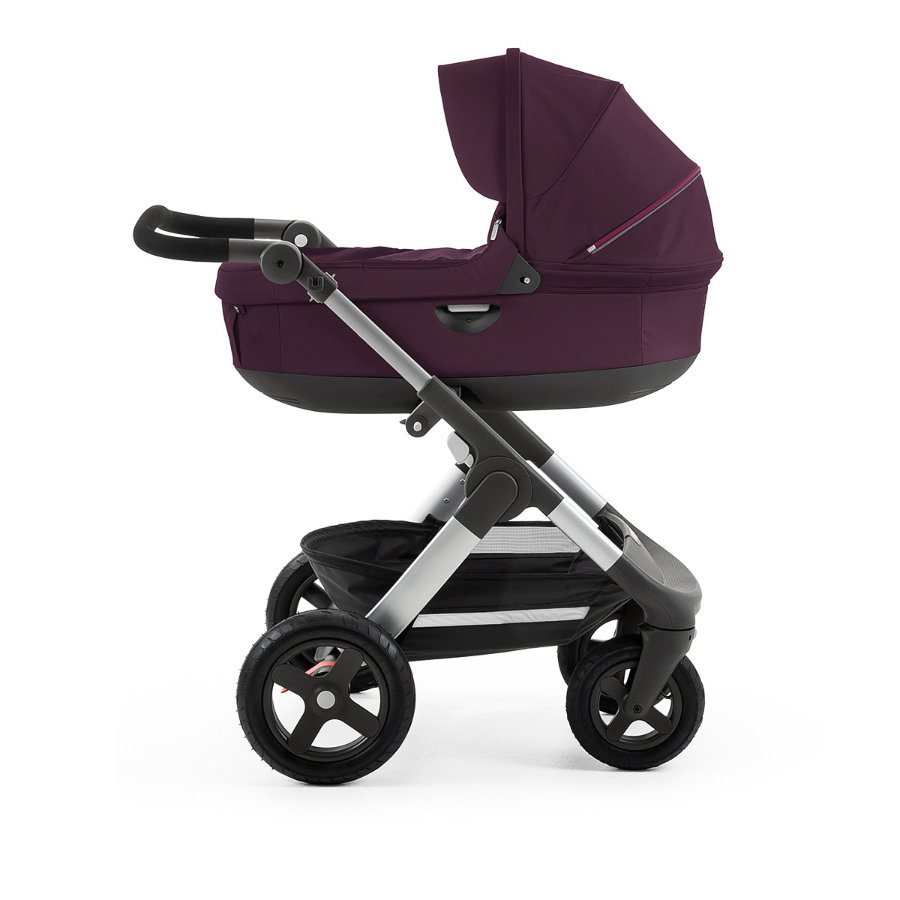 stokke trailz kinderwagen mit gel nder dern inklusive babyschale purple. Black Bedroom Furniture Sets. Home Design Ideas