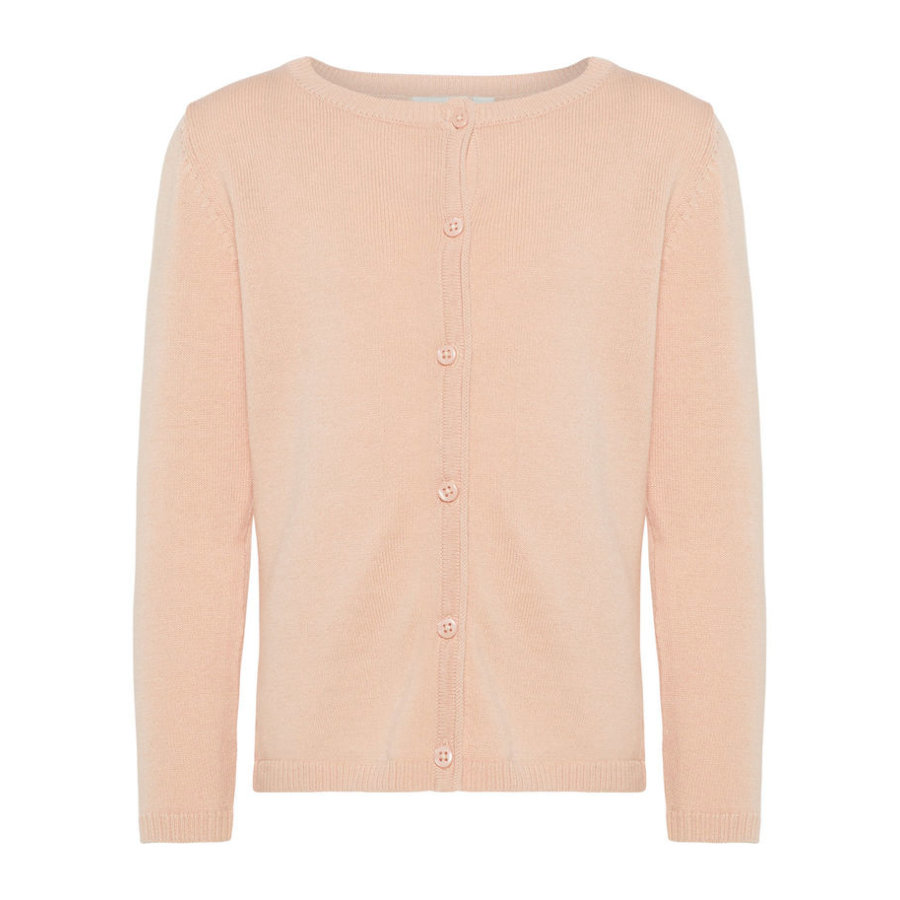 name it Girls Cardigan Nmfvaminica peachy keen