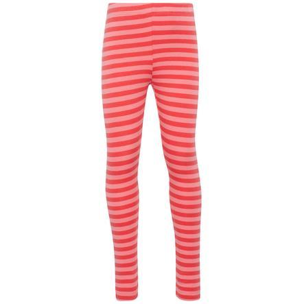 name it Girl s Pantalones de chándal Nmfvivian Stripe sunkist coral