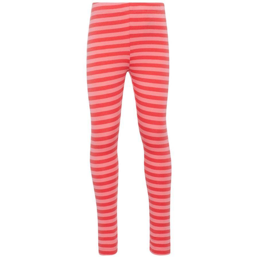 name it Girl s Pantaloni da sudore Nmfvivian Stripe Nmfvivian Stripe affondato corallo