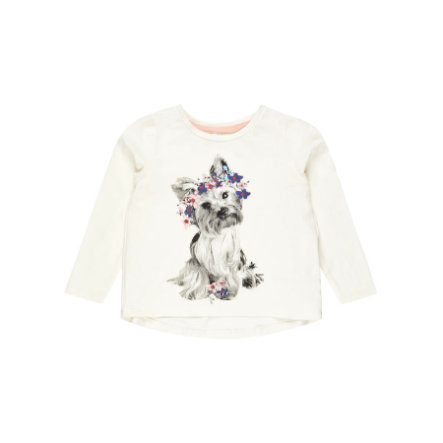 name it Girls Langarmshirt Nmfdassa snow white