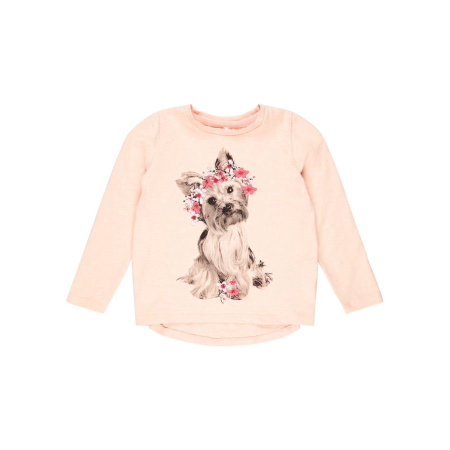 name it Girls Langarmshirt Nmfdassa peachy keen
