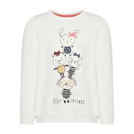 name it Girl s camisa de manga larga Nmfdaxine blanco nieve
