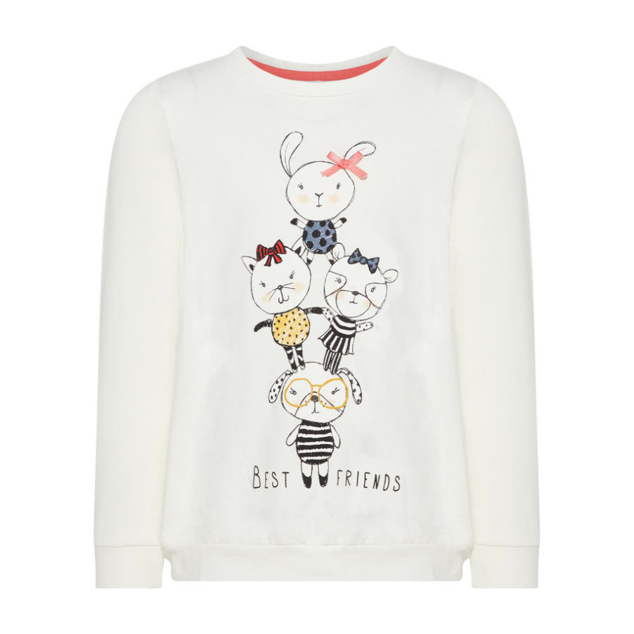 name it Girl s chemise à manches longues Nmfdaxine blanc neige