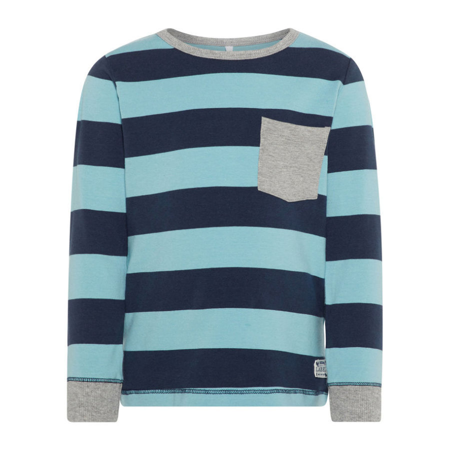 name it Boys Camisa manga larga Nmmdallas nile azul