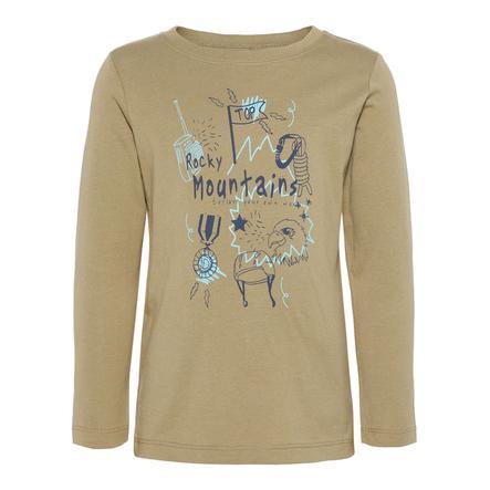 name it Boys Overhemd met lange mouwen Nmmvictor donkergroen