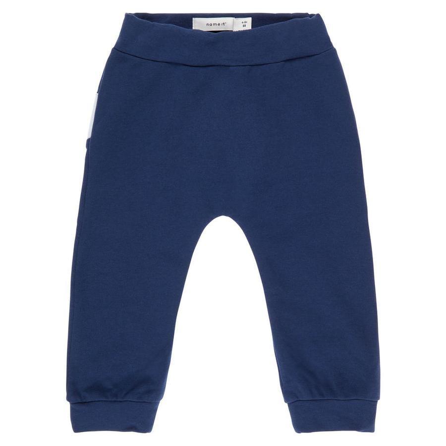 name it Boys Sweatbroek Nbmdas jurkje blauw