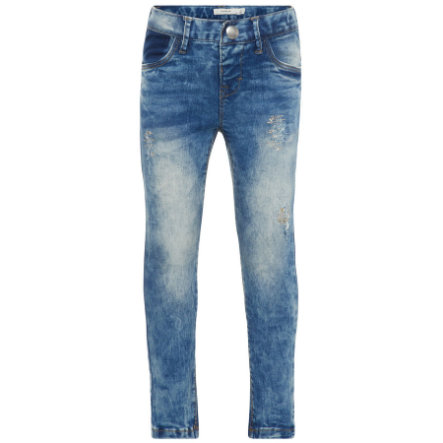 name it Girl s spijkerbroek Nmfpolly lichtblauw denim