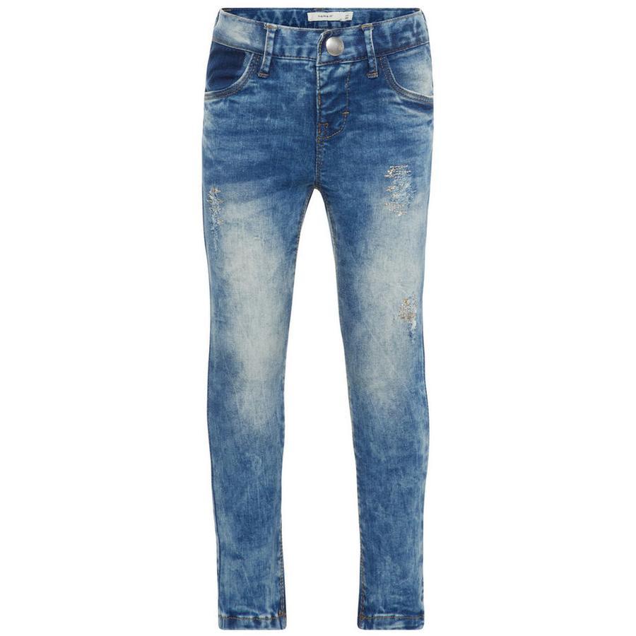 name it Girls Jeans Nmfpolly light blue denim