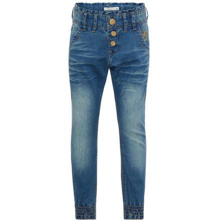 NAME IT tyttöjen Jeans Nmfbibi medium blue denim
