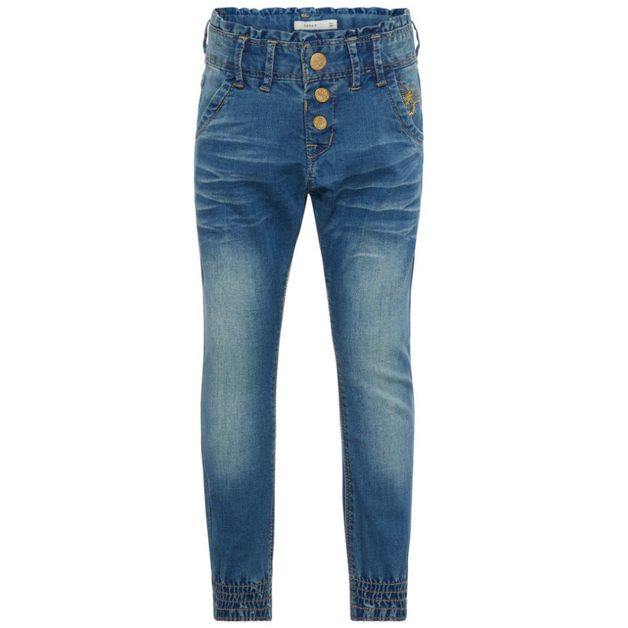 name it Girl s Jeans Nmfbibi medium blauw denim