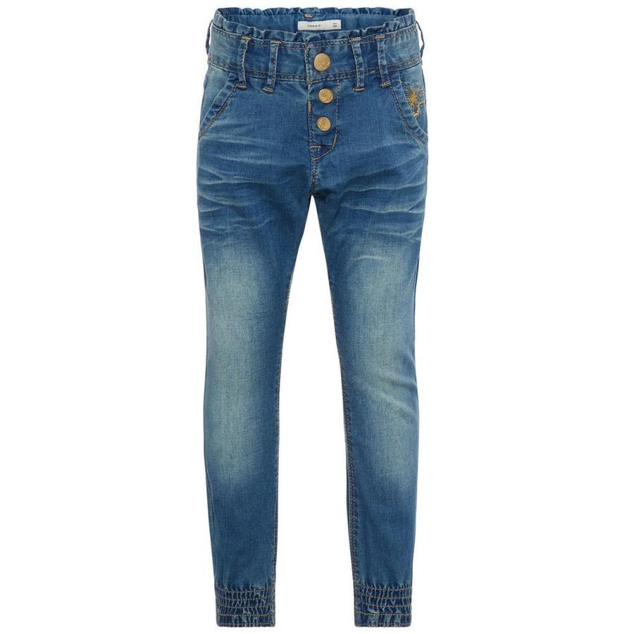name it Girl s Jeans Nmfbibi średnioniebieski jeans Nmfbibi średnioniebieski denim