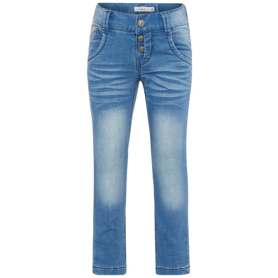 name it Boys Jeans Nmmsilas azul claro denim