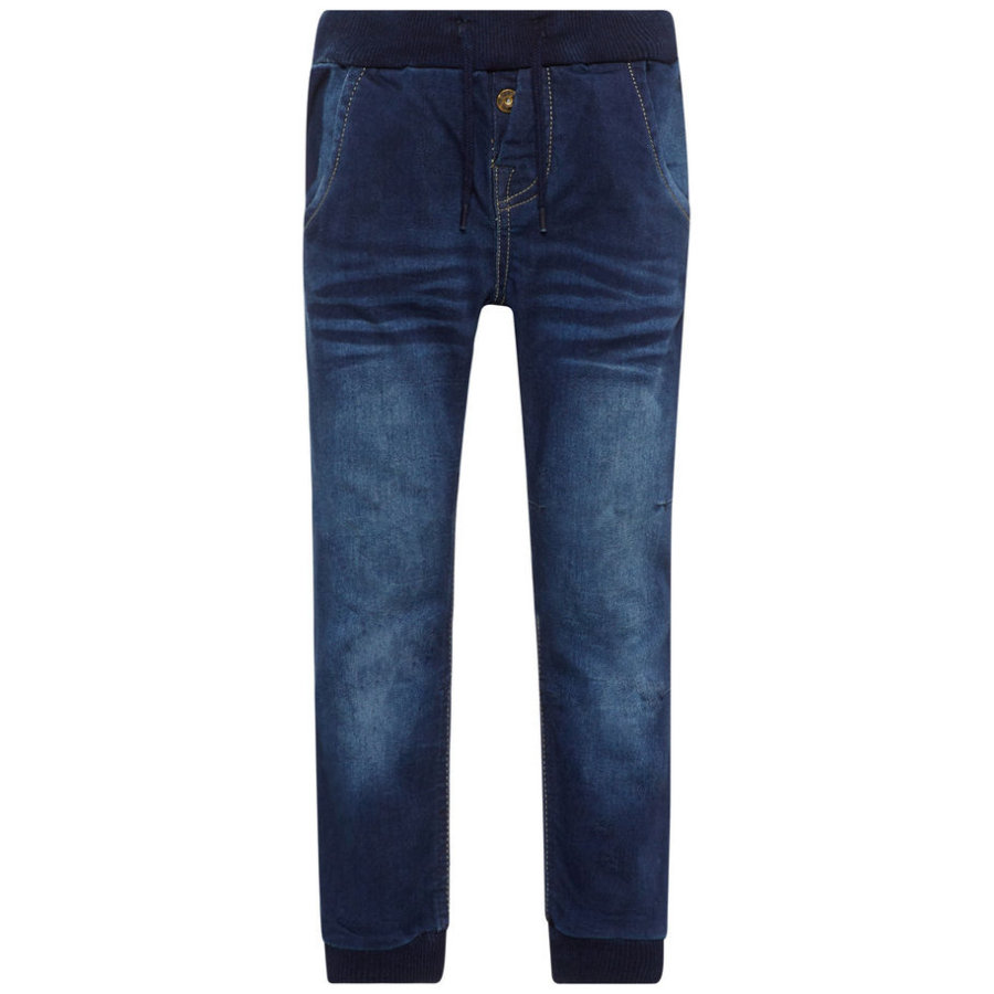 name it Boys Jeans Nmmbob dark blue denim
