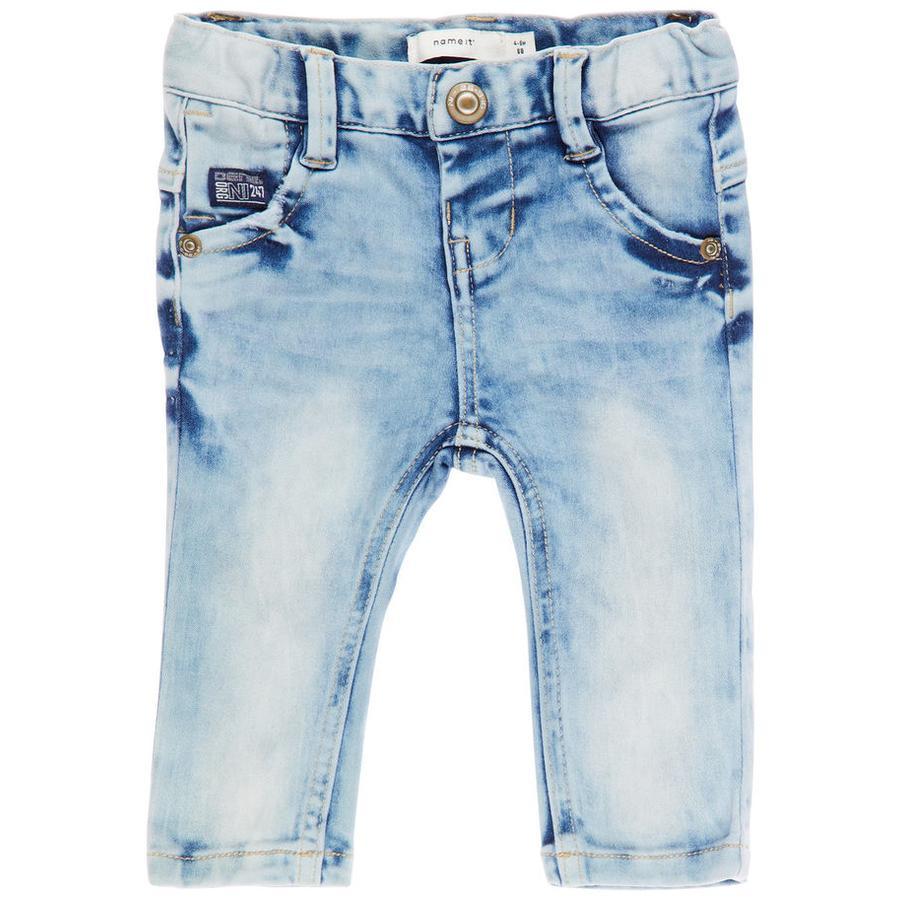 name it Boys Jeans Nbmsofus azul claro denim