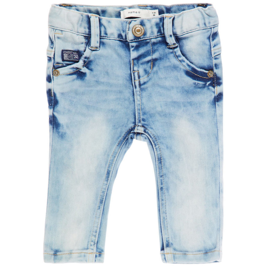 name it Boys Jeans Nbmsofus light blue denim