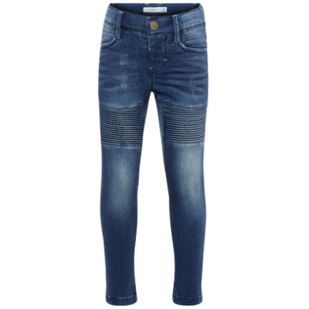 name it Girl s Jeans Nmfpolly średnio-niebieski denim.
