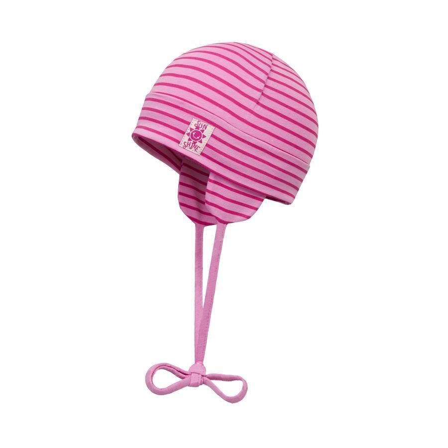 Döll Girls Bindemütze Jersey, pink