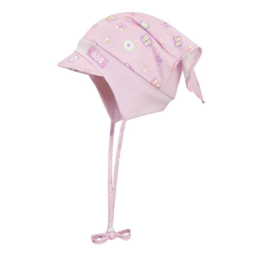 Döll Girls Kopftuchmütze zum Binden pink lady