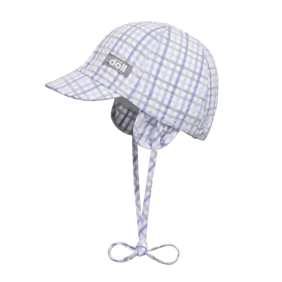Döll Boys Bindmuts met paraplu heide