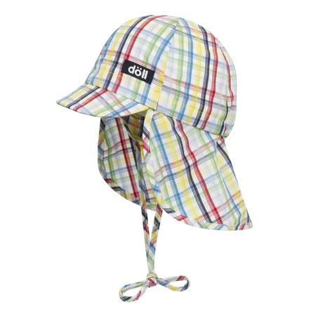 Döll Boys Gorra de encuadernación con paraguas azul brillante
