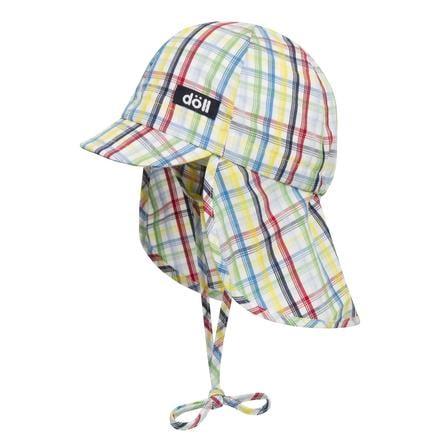 Döll Boys Wiążąca czapka z parasolem błyskotliwym niebieskim