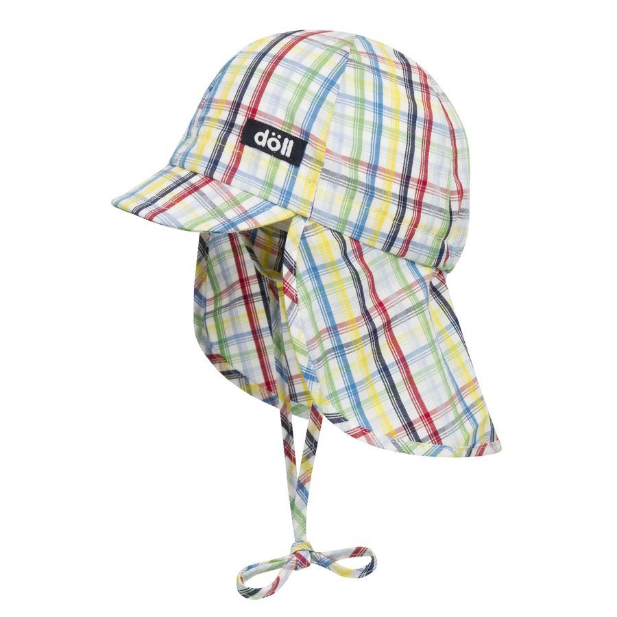 Döll Boys Binddop met paraplu briljant blauw