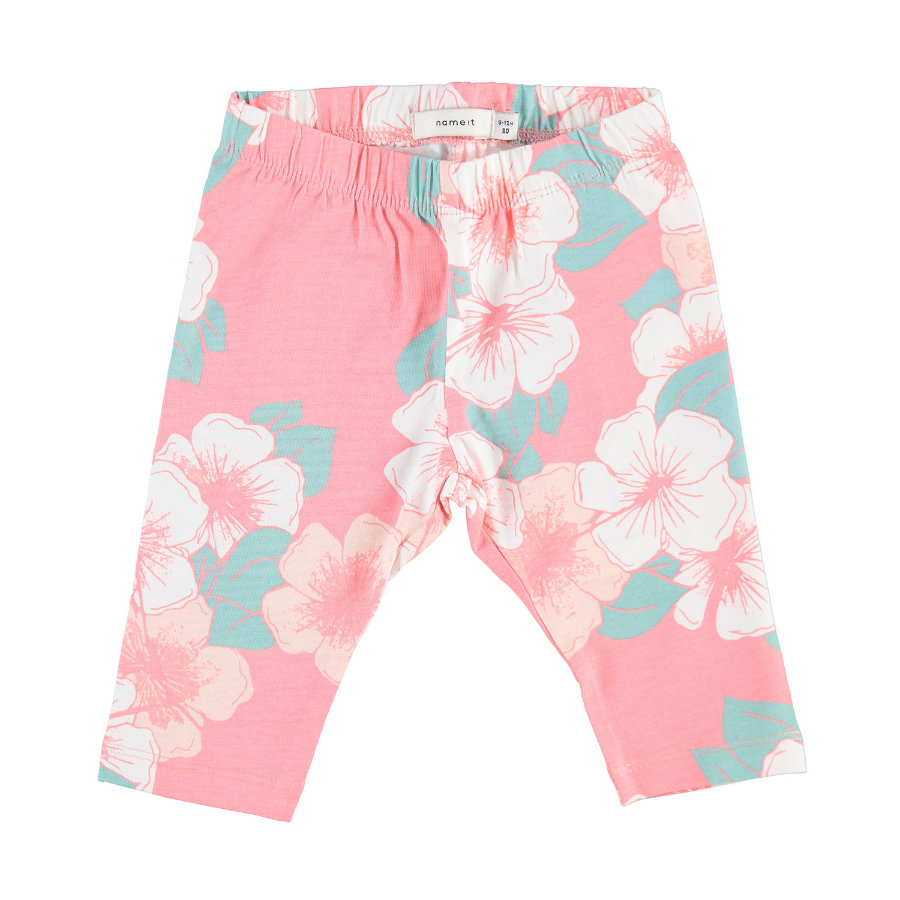 name it Girls Leggings Viviandi flower