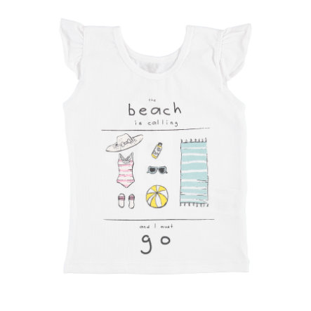 name it Girls T-Shirt Dorte bright white