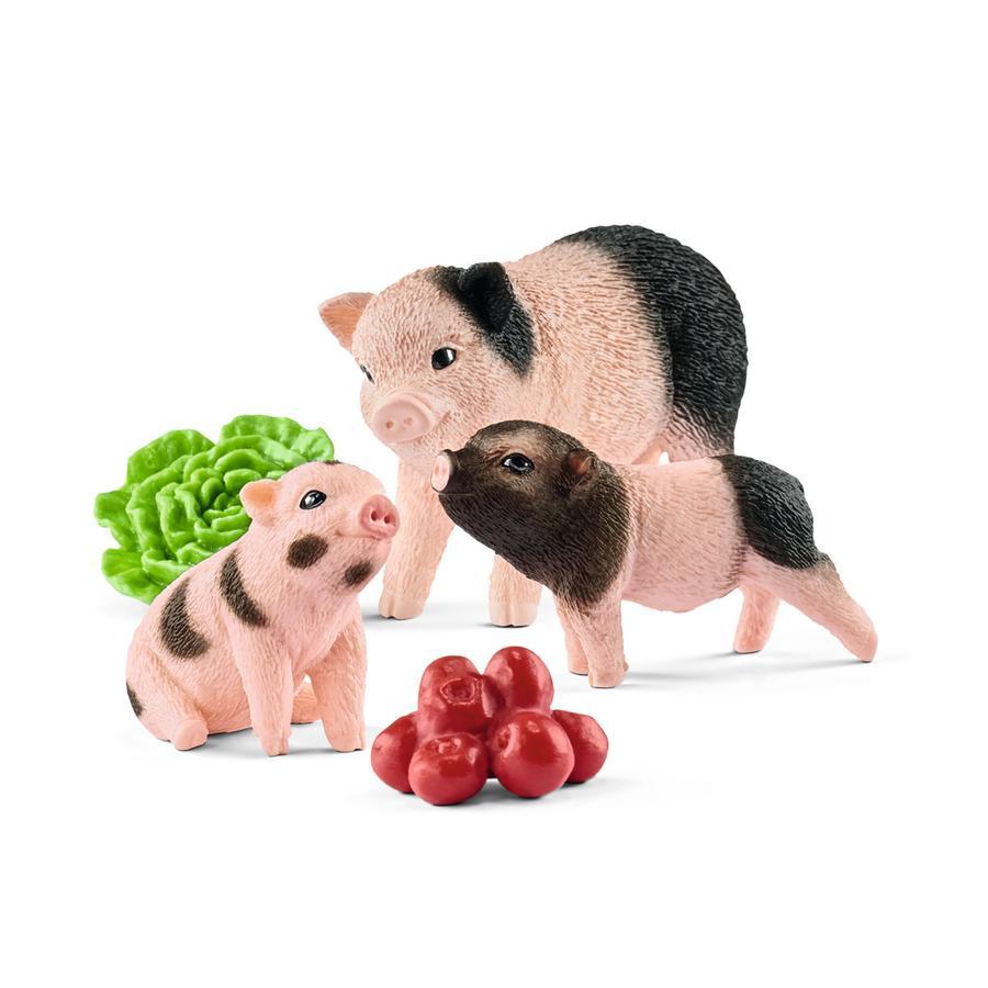Schleich Mini-Schwein Mutter und Ferkel 42422