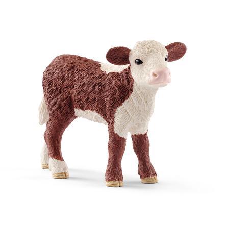 Schleich Figurine veau Hereford 13868