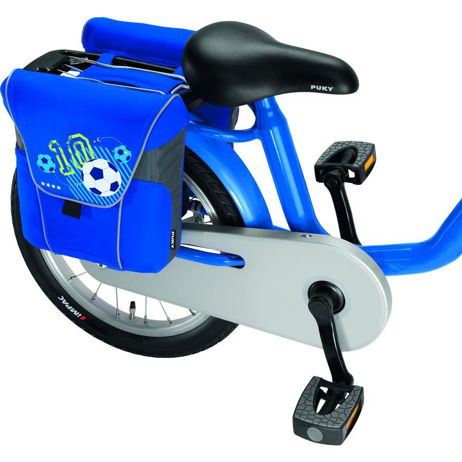 PUKY® Dubbele fietstas DT3, Voetbal, blauw 9788
