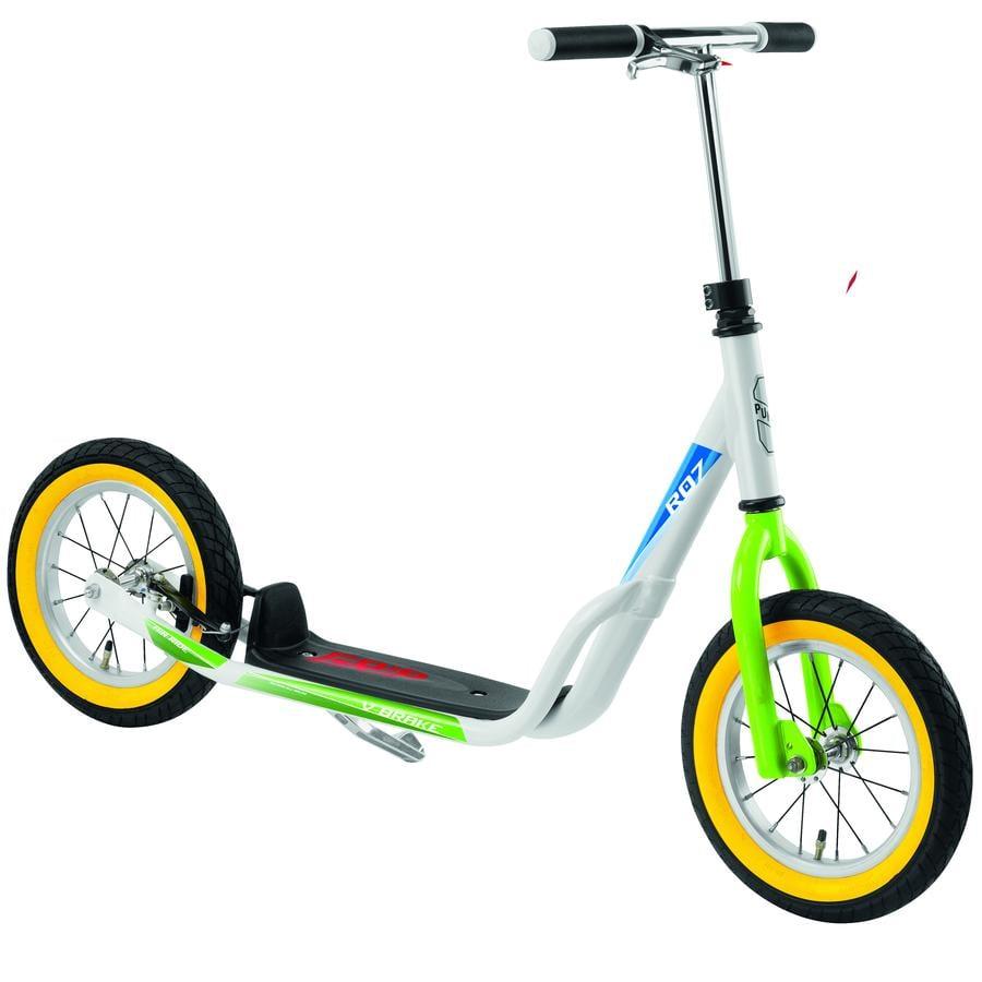 PUKY® Sparkcykel R 07 L, vit/kiwi 5419