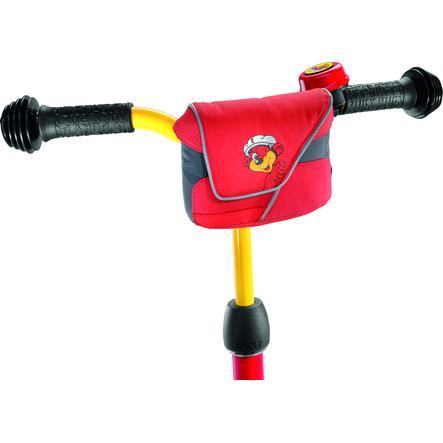 PUKY® Poche de guidon LT1, rouge 9711