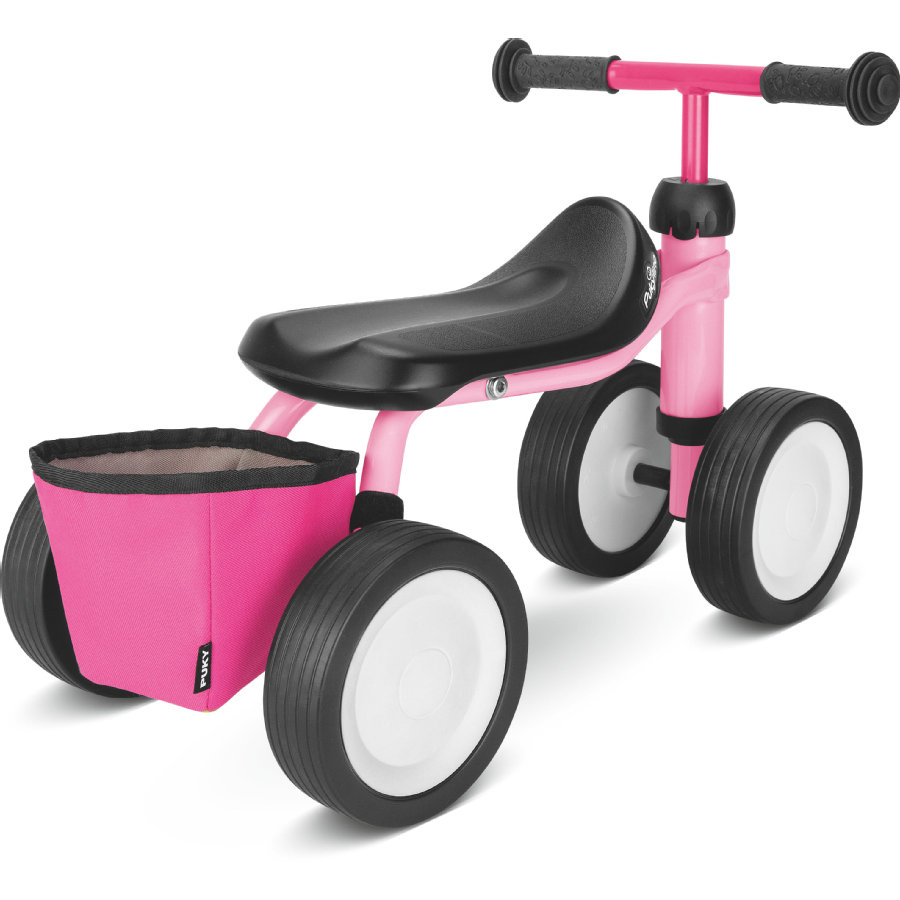 PUKY® Bolsa de manillar para triciclo RT1, rosa 9735