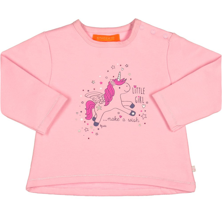 STACCATO Girls Sweatshirt soft orchid