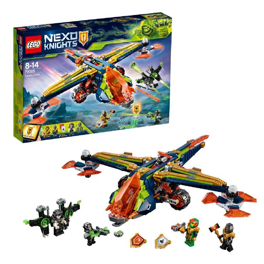 LEGO® Nexo Knights™ - L'avion-arbalète d'Aaron 72005