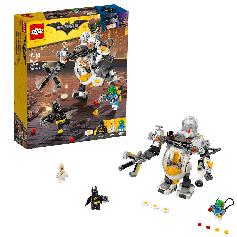 LEGO® Batman Movie™ - Egghode i robotmatkrig 70920