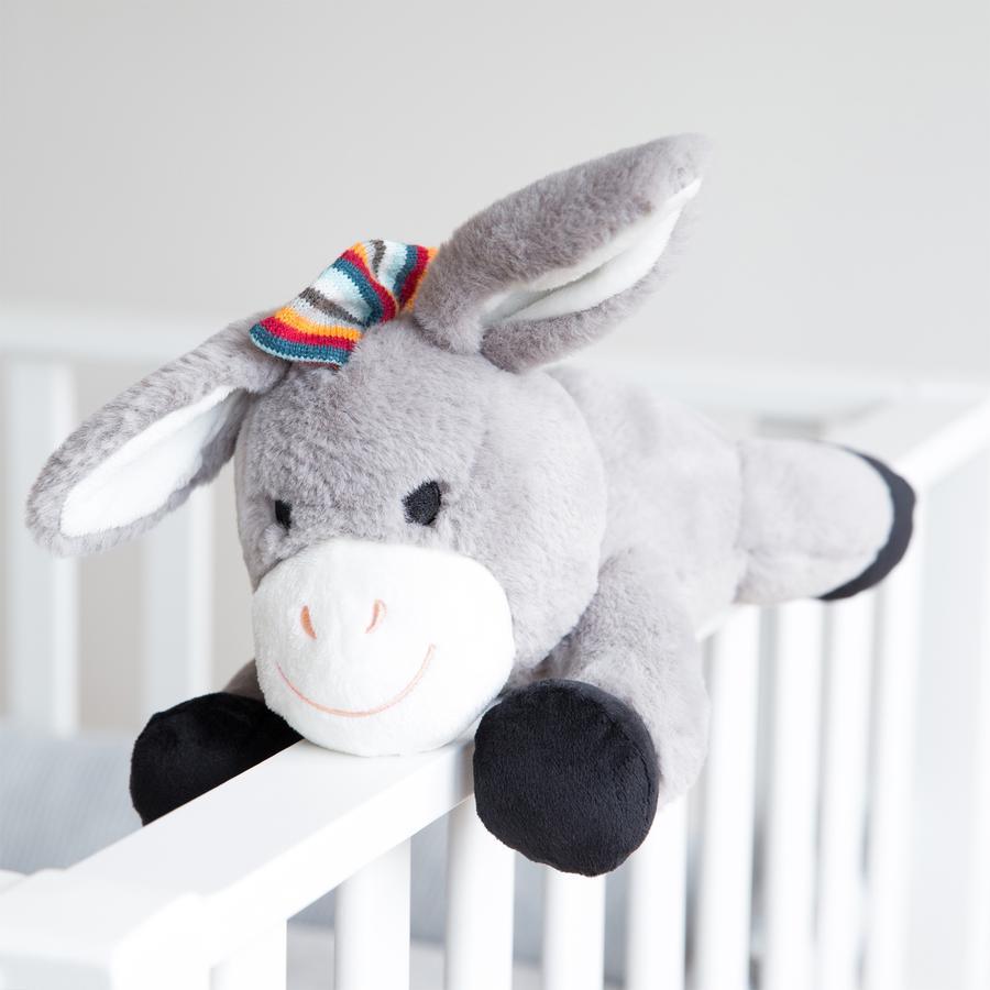 ZAZU Don - Kuscheltier Esel mit Herzschlagsimulation -