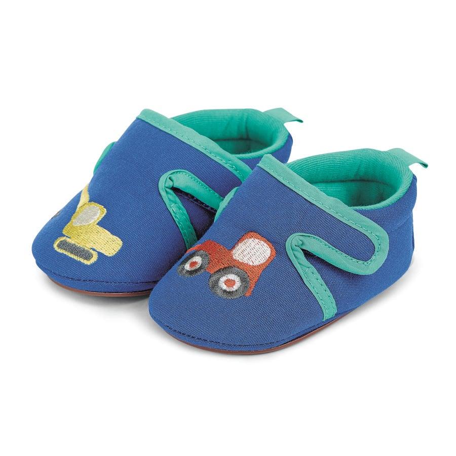 Sterntaler Boys Kruipschoen geborduurd blauw voor baby's