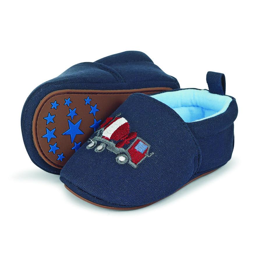 Sterntaler Boys Bambino strisciante scarpa ricamo navy scarpa blu scuro